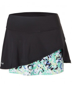Bolle Whiplash 14 Inch Wrap Skirt Black 8691-1000