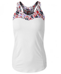 Bolle HP Stained Glass Racerback Tank White 8733-0110