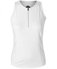 Bolle Essentials Club Whites Zip Tank White 8795-0110