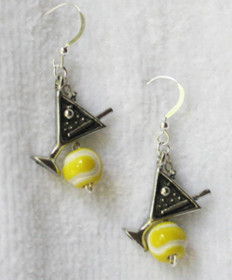 Cute Tini Tennis Earrings JE-TT