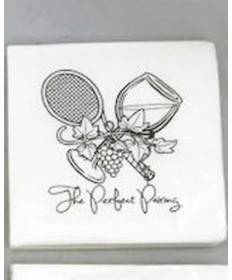 Cute Tennis Napkins - Perfect Pairing NAPKINS-PP
