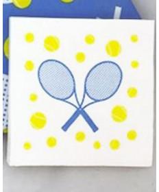 Cute Tennis Napkins Racquet & Balls NAPKINS-RB