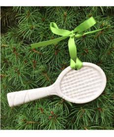 Cute Tennis Sparkling Sand Racquet Ornament