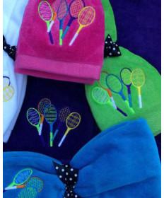 Cute Tennis Lil Racquets Towel TT-LR