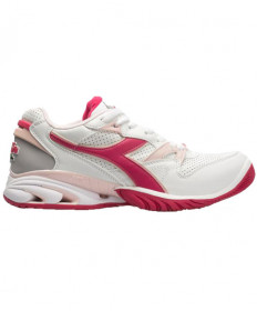 Diadora Women's Speed Star K Ace AG Shoes White/Red 174584-C5457