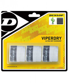 Dunlop Viper Dry Overgrip White T613209