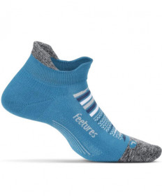Feetures Elite Ultra Light No Show Tab Maui Blue, Large E502133