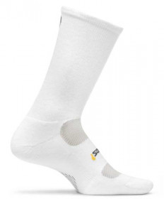 Feetures! High Performance Light Cushion Crew Socks, Large