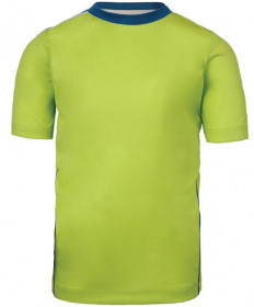 Fila Boys' Piped Crew Top Acid Lime TB181C86-315