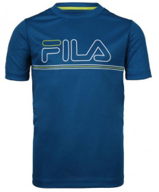 Fila Boys' Serve and Volley Crew Top Mykonos Blue TB181C88-448
