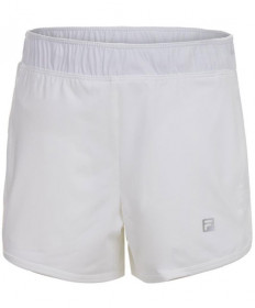 Fila Girls' Double Layer Knit Shorts White TG151JW5-100