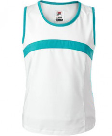 Fila Girls' Blue Wave Tank White TG181M89-100