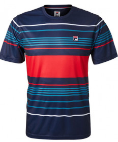Fila Men's Heritage Stripe Crew Navy TM183W51-412