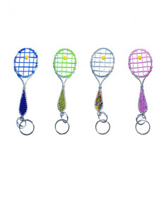 Functional Creations Tennis Racket Keychain TRKC