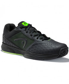 Head Men's Revolt Team 3.0 Shoes Black / Green 273309-100