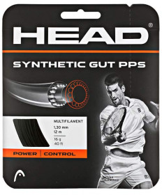 Head Synthetic Gut PPS 16 Black 281065K