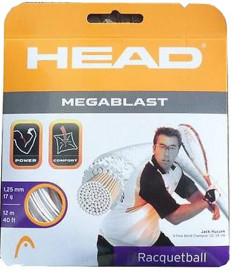Head Megablast 17 Racquetball Black 281094