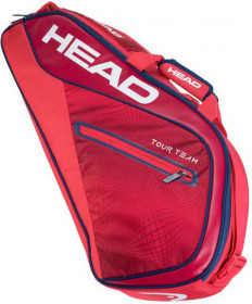 Head Tour Team 3 Racquet Pro 3-Pack Bag Raspberry / Navy 283139-RANV