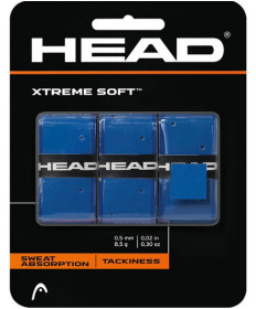 Head XTreme Soft Overgrips 3 Pack Blue 285104-BL