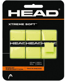 Head XTreme Soft Overgrips 3 Pack Yellow 285104-YW