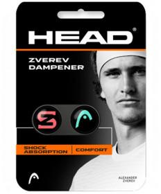 Head Zverev Dampeners 2 Pack Teal / Hot Lava 285120