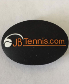 JB's Tennis String Dampener Oval Black/Orange DAMPOVBKOR