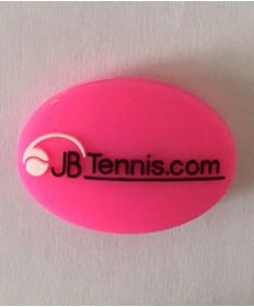 JB's Tennis String Dampener Oval Pink/Black DAMPOVPKBK