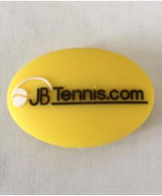 JB's Tennis String Dampener Oval Yellow/Black DAMPOVYEBK