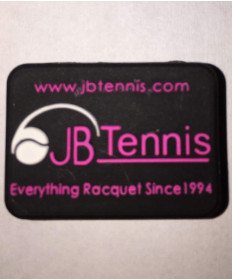 JB's Tennis String Dampener Rectangle Black/Pink DAMPREBKPK