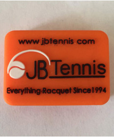 JB's Tennis String Dampener Rectangle Orange/Black DAMPREORBK