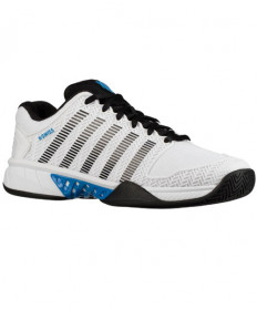 K-Swiss Men's Hypercourt Express Shoes White / Blue 03377-112