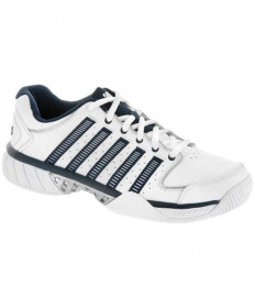 K-Swiss Men's Hyper Court Express LTR Shoes White/Navy 03379-167