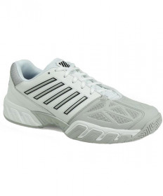 K-Swiss Men's Big Shot Lite 3 Shoes White/Silver 05366-153