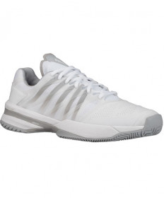 K-Swiss Men's Ultrashot Shoes White/Hi-Rise Grey 05648-107