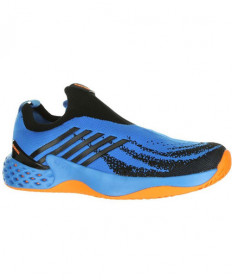 K-Swiss Men's Aero Knit Shoes Brilliant Blue / Neon Orange 06137-427