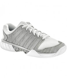 K-Swiss Women's Hypercourt Express Shoes White/Silver 93377-153