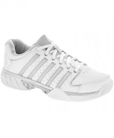 K-Swiss Women's Hyper Court Express LTR Shoes White/Grey 93379-107