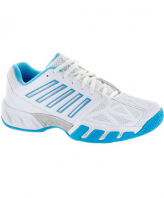 K-Swiss Women's Bigshot Light 3 Shoes White/Blue 95366-145