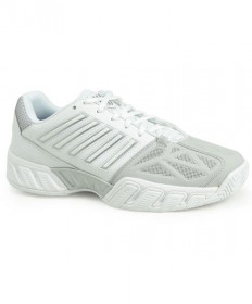 K-Swiss Women's Big Shot Lite 3 Shoes White/Silver 95366-153