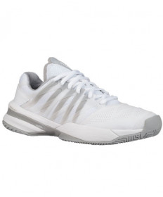 K-Swiss Women's Ultrashot Shoes White/High-Rise Grey 95648-107