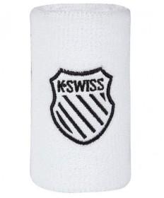 K-Swiss 5 Inch Wristband White WB013-102