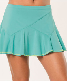 Lucky in Love Haviana 12 Inch Rocochet Flounce Skirt Aquamarine CB232-416