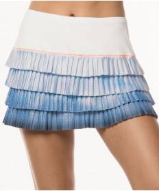 Lucky in Love Celestial Geo Pleated 13 Inch Skirt Blue Bell CB339-809455