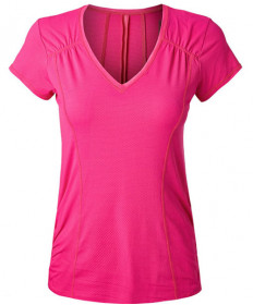 Lucky in Love Off the Charts Uplift Short Sleeve Top Pink Glow CT471-640