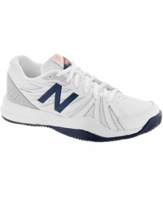 New Balance Women's WC786 V2 D White/Blue WC786WN2D