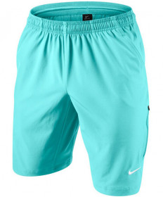 Nike Men's Net 11 Inch Shorts Light Aqua 455618-434