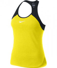 Nike Women's Dry Slam Tank Optic Yellow 728719-741