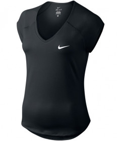 Nike Women's Pure Tennis Top Black 728757-010
