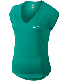 Nike Women's Pure Tennis Top Neptune Green 728757-370