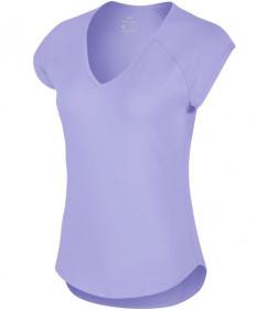 Nike Women's Pure Tennis Top Purple Agate 728757-552